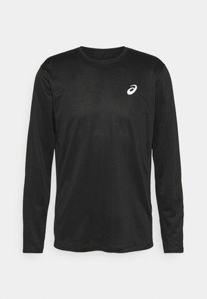 CORE - T-shirt à manches longues - performance black