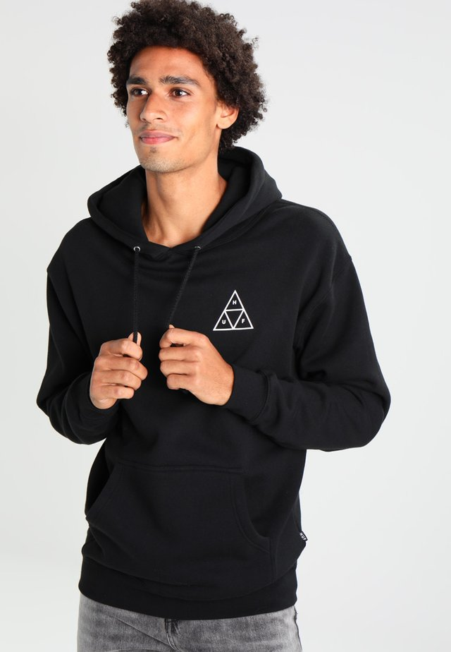 ESSENTIALS HOODIE - Sweat à capuche - black