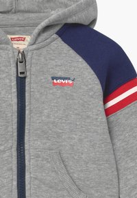 Levi's® - COLORBLOCK FULL-ZIP HOODIE - Mikina na zip - grey - 2