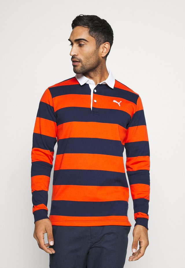 BRIDGES RUGBY - Polo - pureed pumpkin