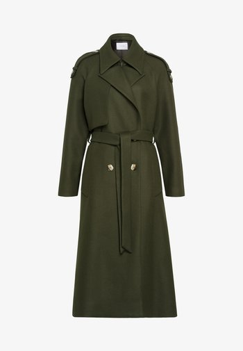 CHARLIZE - Trenchcoat - silver pine