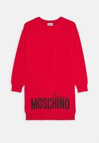 MOSCHINO - DRESS - Denní šaty - flame red - 0