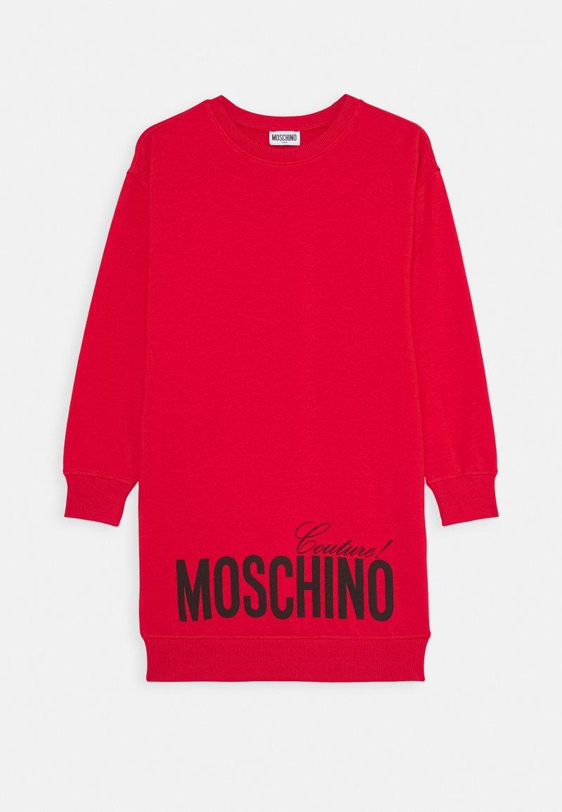 MOSCHINO - DRESS - Denní šaty - flame red