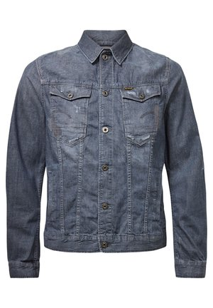 ARC 3D SLIM - Veste en jean - faded pebble grey restored