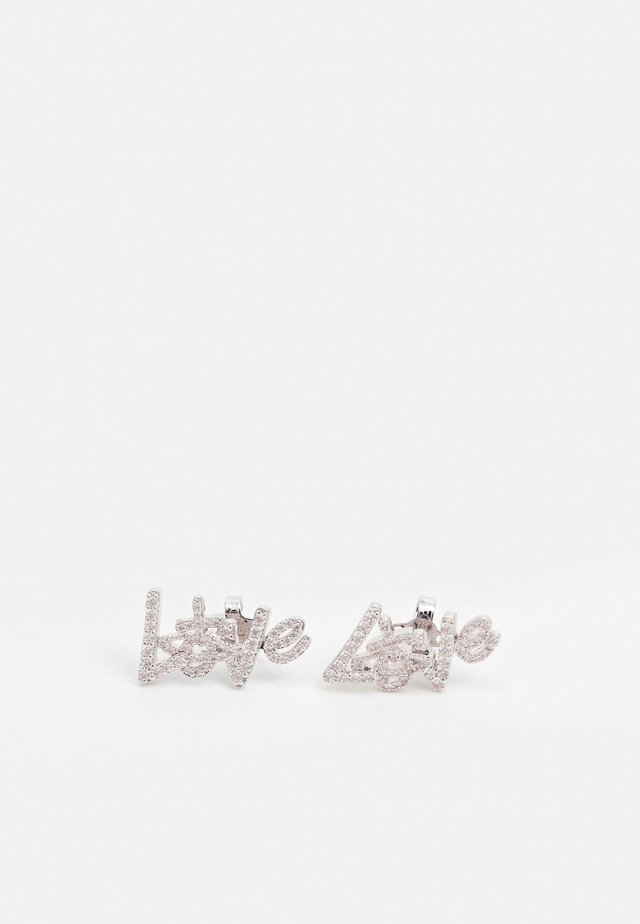WILMA EARRINGS - Boucles d'oreilles - silver-coloured