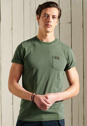 T-shirt print - four leaf clover
