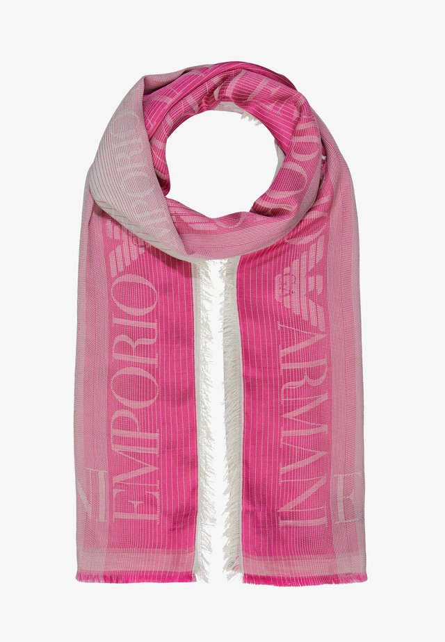 STOLE LIGHTWEIGHT FADED LOGO - Huivi - pop pink
