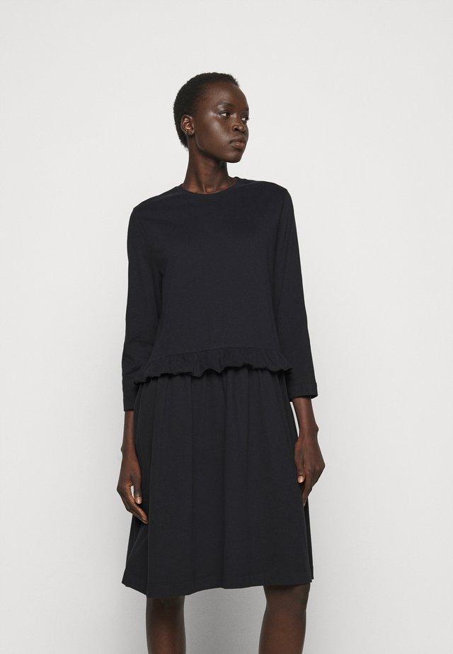 CURL - Vestito di maglina - black