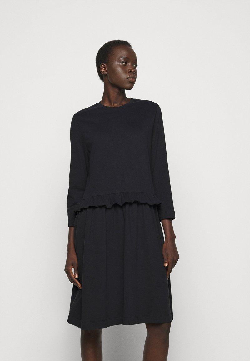 Libertine-Libertine - CURL - Žerzejové šaty - black