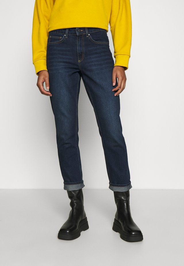 AMILY - Jeans a sigaretta - mid blue