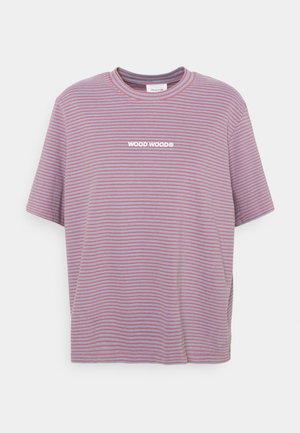 ALMA HEAVY - Print T-shirt - rose stripes