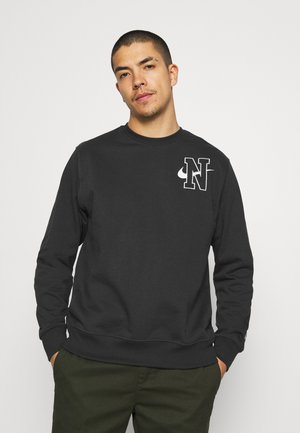 RETRO CREW - Sweatshirt - off noir