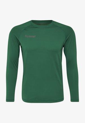 FIRST PERFORMANCE  - Sports shirt - evergreen