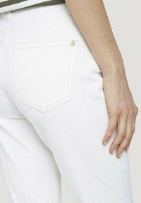 TOM TAILOR - Straight leg jeans - whisper white - 5