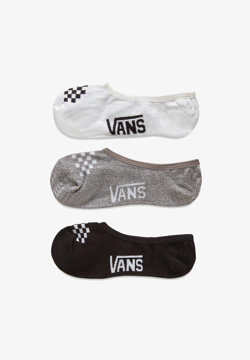 Vans - WM CLASSIC ASSORTED CANOODLE (1-6, 3PK) - Trainer socks - black/white/grey