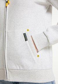 Schmuddelwedda - SWEATJACKE - Zip-up sweatshirt - wollweiss melange - 3