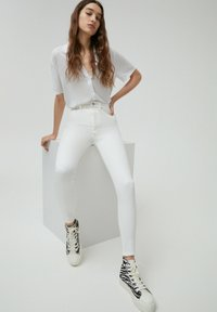 PULL&BEAR - Jeans Skinny Fit - white - 3