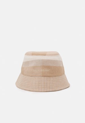 PAFE CHECKED BUCKETHAT UNISEX - Hat - light yellow