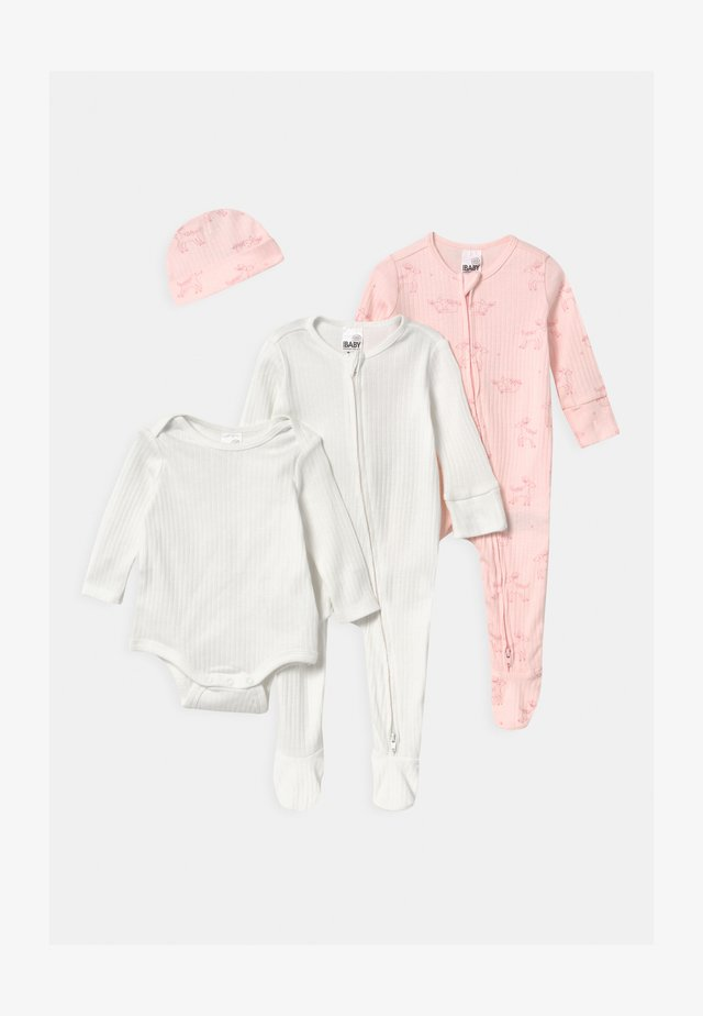 BUNDLE SET UNISEX - Muts - crystal pink
