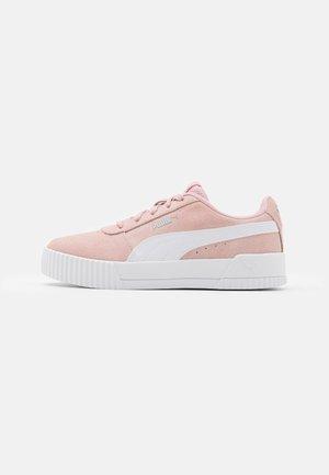 CARINA - Baskets basses - peachskin/white