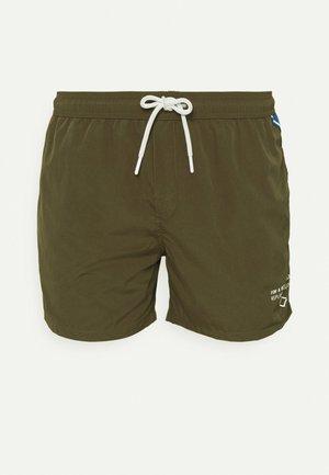 Swimming shorts - dark military