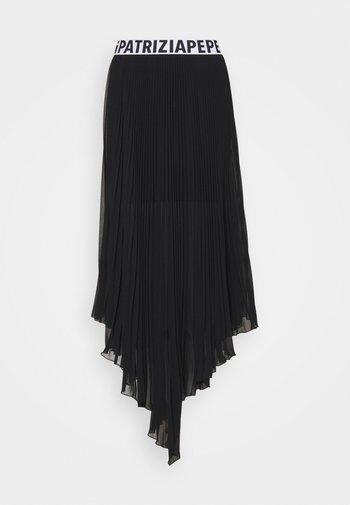 GONNA SKIRT - Pleated skirt - nero