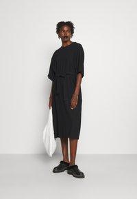 MM6 Maison Margiela - DRESS - Day dress - black - 1