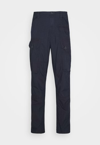 JUNGLE RELAXED TAPERED PANT - Cargo trousers - indigo star