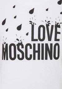 Love Moschino - Jersey dress - optical white - 6