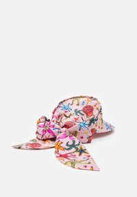 Versace - CAPPELLO BANDANA CON VISIERA - Klobouk - rosa/multicolor - 1