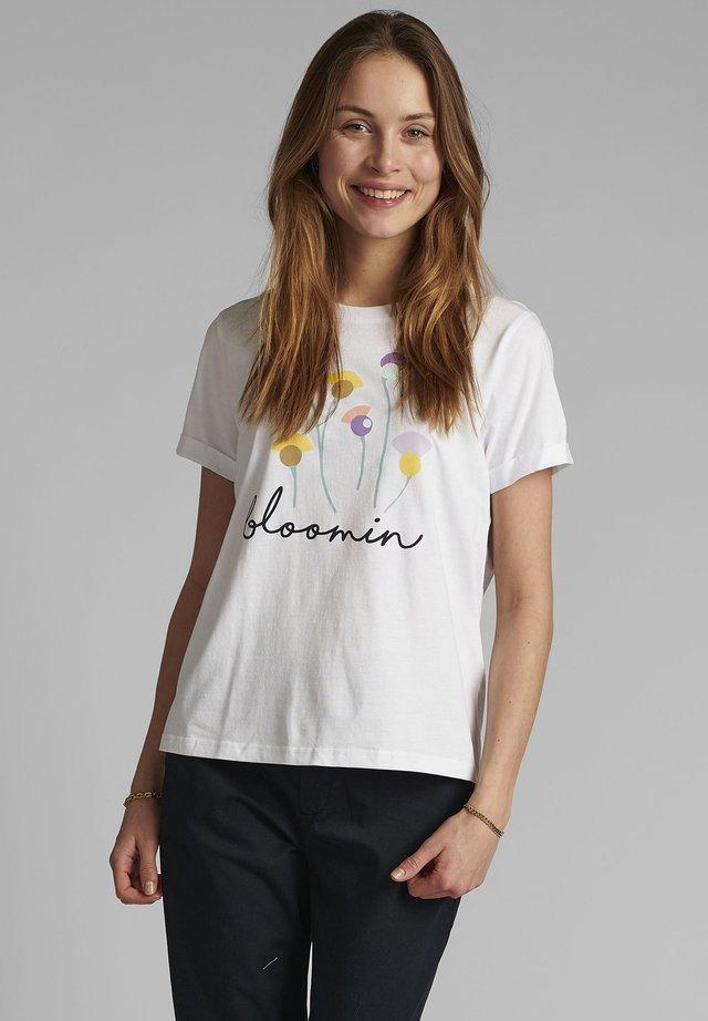 T-shirts print - bright white