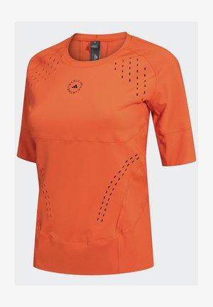 ADIDAS BY STELLA MCCARTNEY TRUEPURPOSE T-SHIRT - T-shirts med print - orange