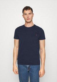 Superdry - VINTAGE TEE - Basic T-shirt - rich navy - 0
