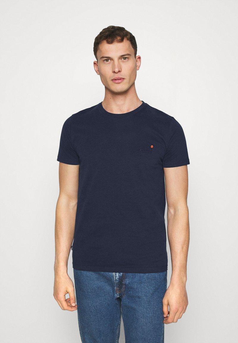 Superdry - VINTAGE TEE - Basic T-shirt - rich navy