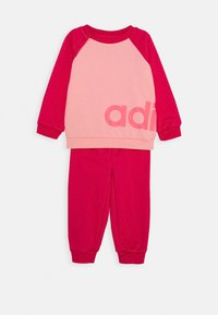 adidas Performance - ESSENTIALS SPORTS SET UNISEX - Chándal - glow pink/power pink/signal pink - 1