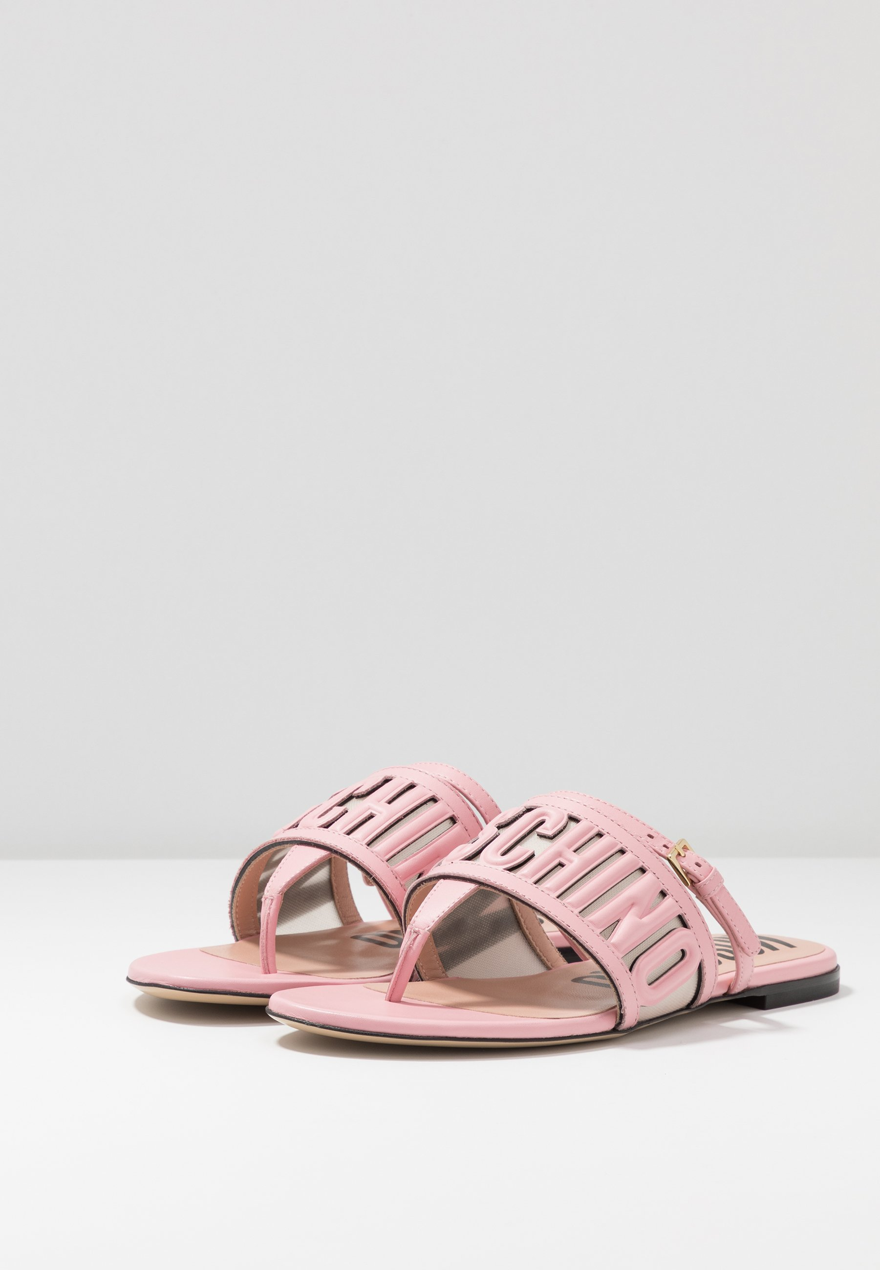 MOSCHINO Tongs - rosa - Sandales & Nu-pieds femme Limité