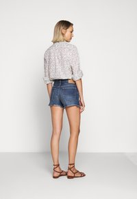 Polo Ralph Lauren - SPHIA CUTOFF - Denim shorts - medium indigo - 2