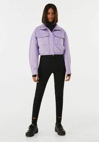 Bershka - Light jacket - mauve - 1