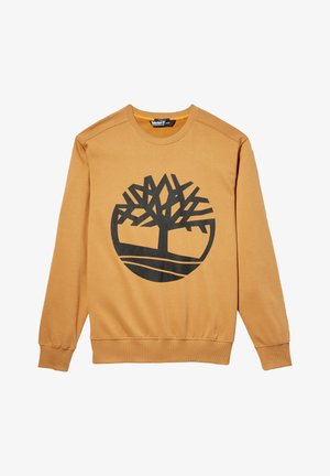 YC CORE TREE LOGO CREW NECK  - Sweatshirt - wheat boot/black