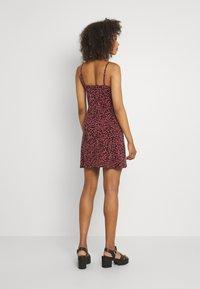 Even&Odd - 2 PACK - Sukienka z dżerseju - black/multi-coloured - 2