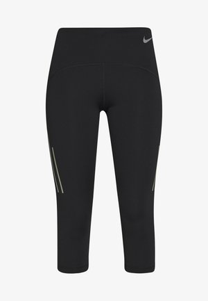 SPEED CAPRI MATTE - Urheilucaprit - black/gunsmoke