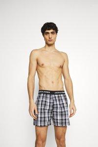Jack & Jones - JACMEYER TRUNKS 3 PACK - Boxer shorts - black/grey - 3