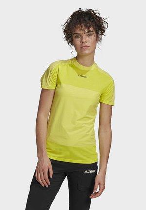 TERREX ZUPAHIKE T-SHIRT - T-shirts med print - yellow