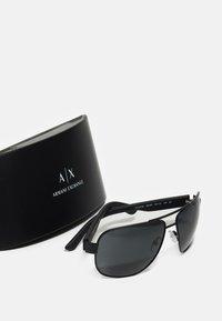 Armani Exchange - Sunglasses - satin black - 1