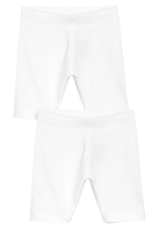 2 PACK CYCLE SHORTS - Short - white