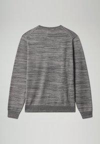 Napapijri - DUEVILLE CREW - Pullover - dark grey melange - 5