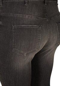 Zizzi - Slim fit jeans - grey - 4