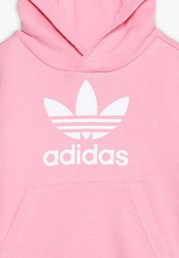 adidas Originals - TREFOIL HOODIE SET - Bluza z kapturem - light pink/white - 5