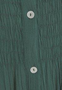 by-bar - LOULOU DRESS - Shirt dress - bottle green - 2