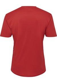 Hummel - DUO SET - Sports shorts - true red/marine - 2